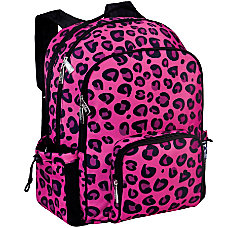 Wildkin Macropak Backpack Pink Leopard