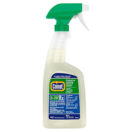 Comet® Bathroom Cleaner, 32 Oz. Spray Bottle