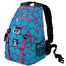Wildkin Serious Laptop Backpack Big Dot