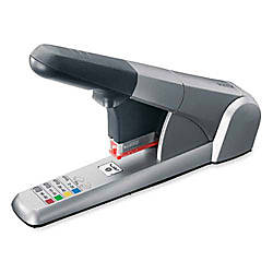 Rapid Heavy Duty Cartridge Stapler Silver