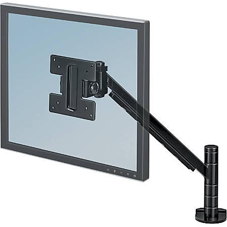 Fellowes® Designer Suites Flat Panel Monitor Arm, Black