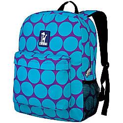 Wildkin Crackerjack Backpack Big Dot Aqua