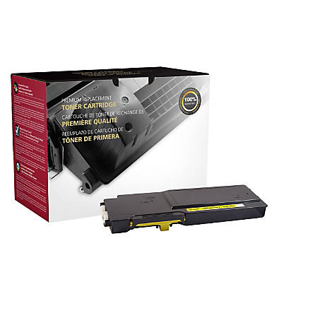 Clover Imaging Group Remanufactured High-Yield Toner Cartridge, Yellow, 200813P (Dell™ 593-BBBO / 593-BBBR / RP5V1 / YR3W3)