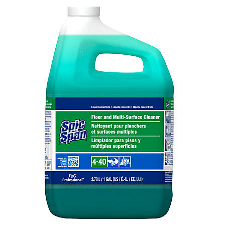Spic And Span® Multi-Surface And Floor Cleaner, 1 Gallon