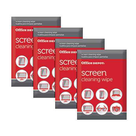 Office Depot® Brand Screen-Cleaning Wipes, Pack Of 24