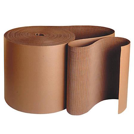 "Office Depot® Brand Single-Face Corrugated Roll, 3"" x 250', Kraft"