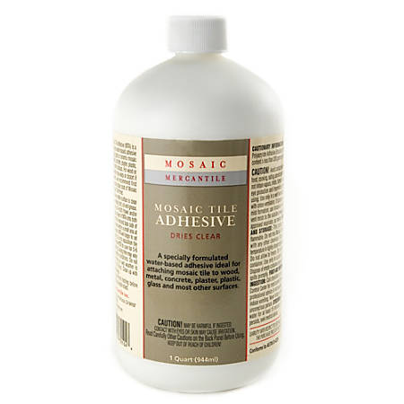 Mosaic Mercantile Mosaic And Tile Adhesive, 32 Oz