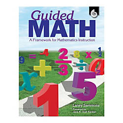 Shell Education Guided Math Book Pre