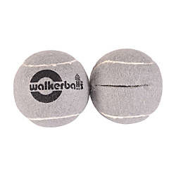 Walkerballs Walker Tennis Ball Glides Gray