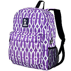 Wildkin Crackerjack Backpack Wishbone Purple