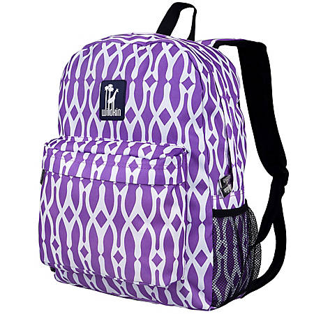Wildkin Crackerjack Backpack, Wishbone Purple