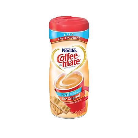 Nestle® Coffee-mate® Powdered Creamer Canister, Original Lite, 11 Oz