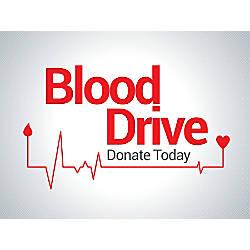Customizable Yard Sign Blood Drive Donate