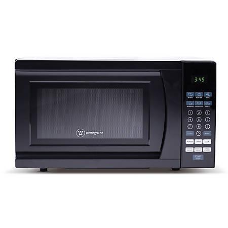 Westinghouse 0.7 Cu. Ft. Countertop Microwave, Black