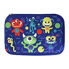 Inkology Monsters 3 D Pencil Case