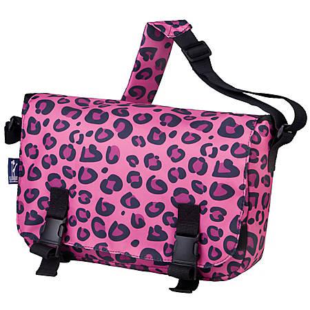 Wildkin Jumpstart Messenger Bag Pink Leopard Item 293489