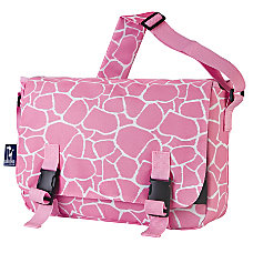 Wildkin Jumpstart Messenger Bag Pink Giraffe