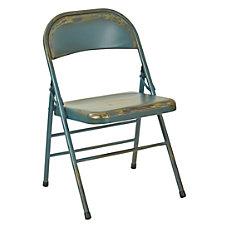 Office Star Bristow Steel Folding Chairs