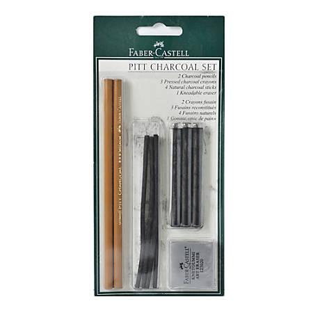 Faber-Castell Pitt Charcoal Set, Black