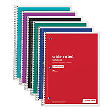 Just Basics Wirebound Notebook 3 Hole