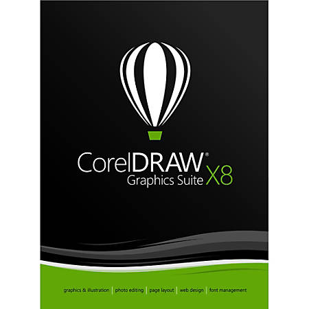 Corel® CorelDRAW® Graphics Suite X8, Download Version