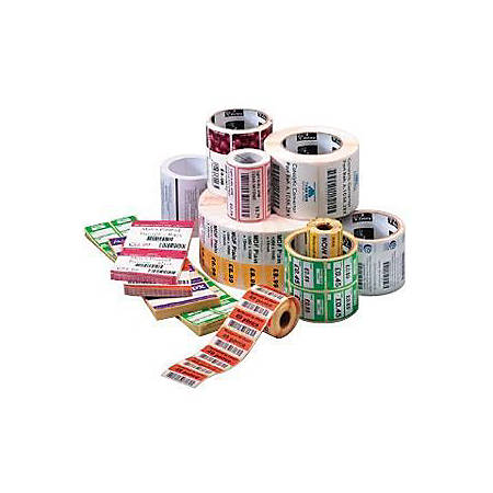 "Zebra Label Paper, U82570, 2"" x 1"" Direct Thermal Zebra Z™Select 4000D, 1"" Core"