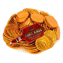 Fort Knox Milk Chocolate Coins 1