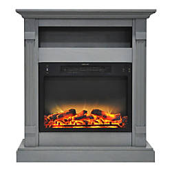 Cambridge Sienna Electric Fireplace With Enhanced