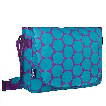 Wildkin Laptop Messenger Bag Dots Aqua Item 294146