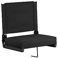 Flash Furniture Grandstand Comfort Seat Black