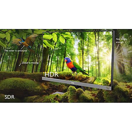 "BenQ EW277HDR 27"" Full HD LED LCD Monitor - 16:9 - Metallic Gray - 1920 x 1080 - 16.7 Million Colors - 300 Nit - 4 ms - HDMI - VGA"