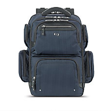 Solo Lexington Laptop Backpack Blue