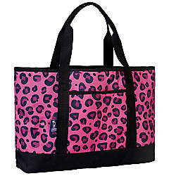 Wildkin Tote All Bag Pink Leopard