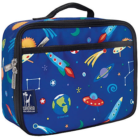 Wildkin Polyester Lunch Box, Out Of This World By Olive Kids