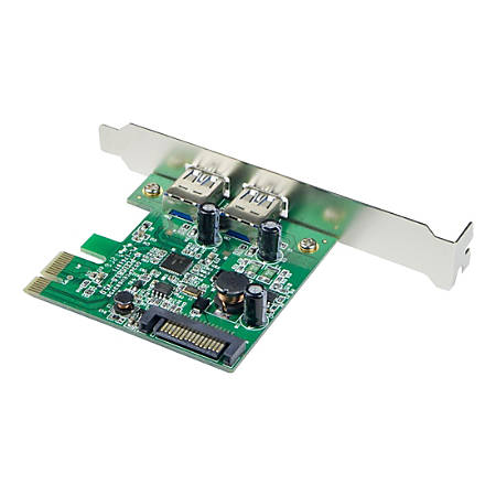 SYBA Multimedia USB 3.0 2-port PCI-Express Controller Card, with SATA Power Connector