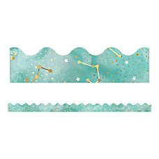 Carson Dellosa Galaxy Scalloped Bulletin Board