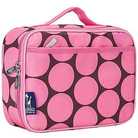 Wildkin Polyester Lunch Box, Big Dot Pink