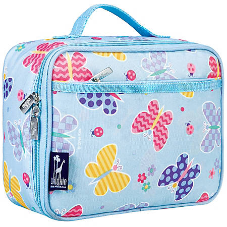 Wildkin Polyester Lunch Box, Butterfly Garden By Olive Kids