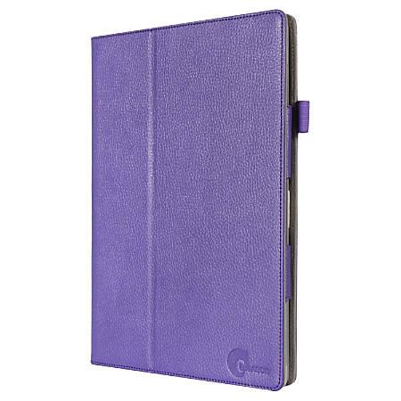 i-Blason Slim Book Carrying Case Tablet PC, Credit Card, ID Card - Purple