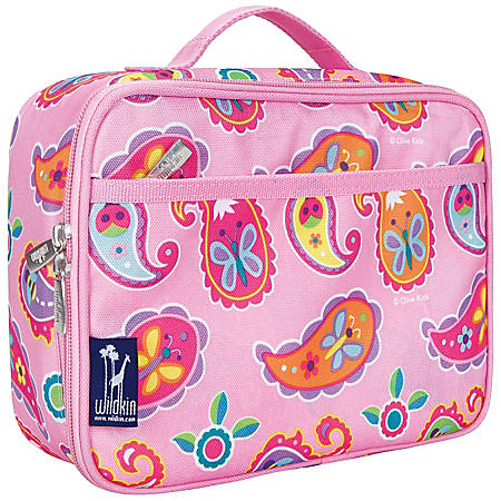 Wildkin Polyester Lunch Box, Paisley By Olive Kids