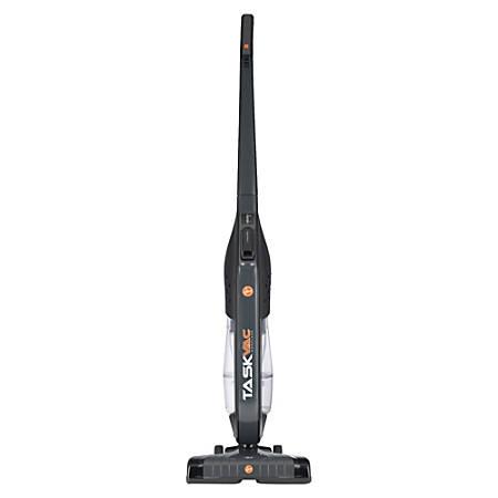Hoover TaskVac Cordless Bagless Commercial Upright Vacuum, Black