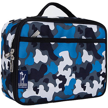 Wildkin Polyester Lunch Box, Blue Camo