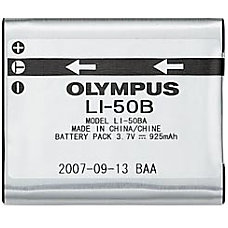 Olympus LI 50B Rechargeable Lithium Ion