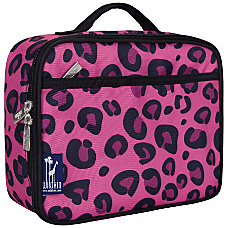 Wildkin Polyester Lunch Box Pink Leopard