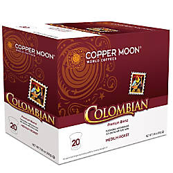 Copper Moon Coffee Aroma Cups Colombian