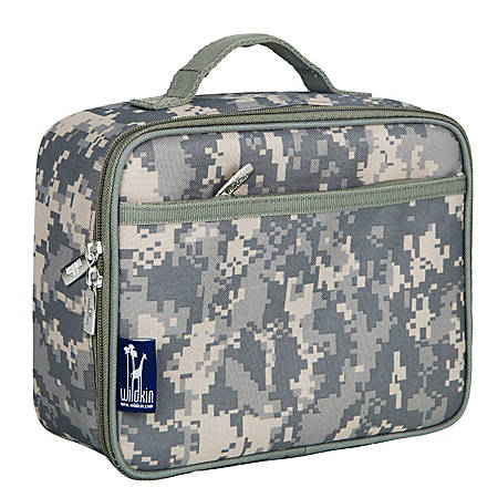 Wildkin Polyester Lunch Box Digital Camo