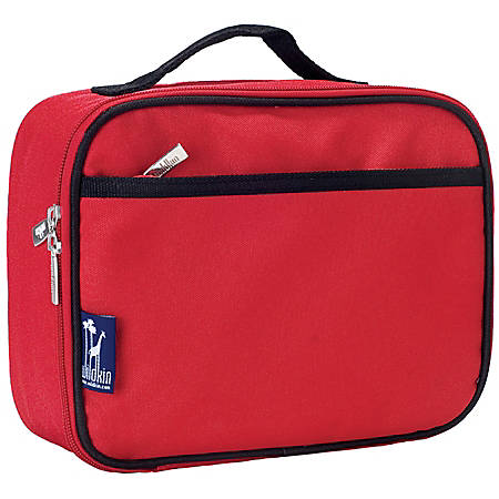 Wildkin Polyester Lunch Box, Cardinal Red