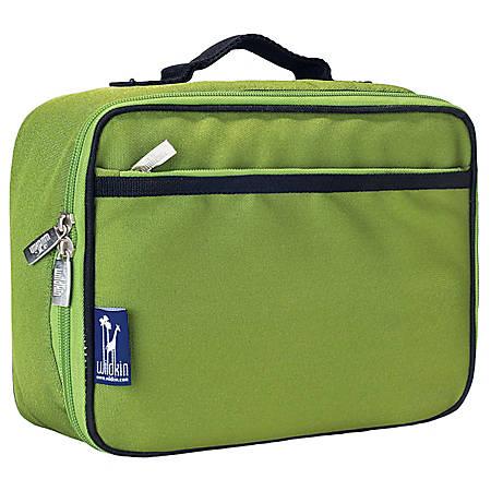 Wildkin Polyester Lunch Box, Parrot Green
