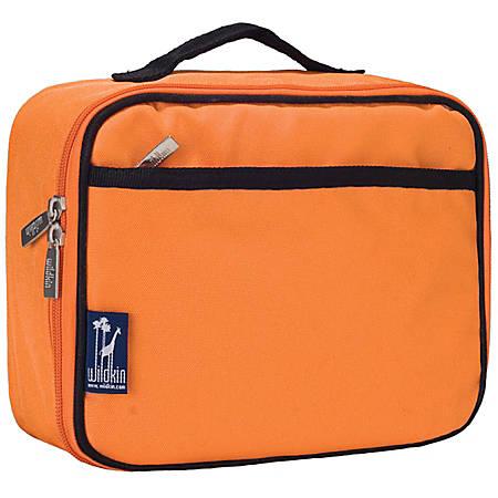 Wildkin Polyester Lunch Box, Bengal Orange