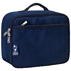 Wildkin Polyester Lunch Box Whale Blue